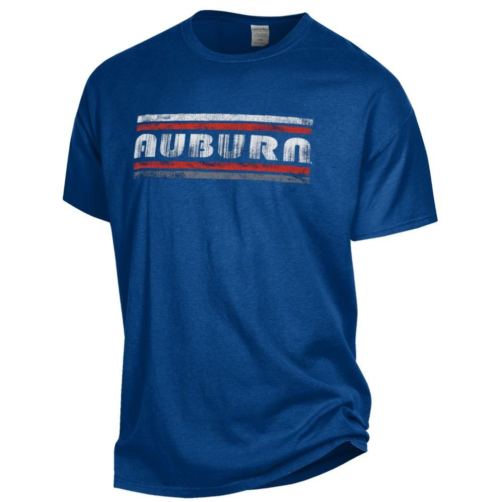 Auburn Women's Retro Bar Comfort Wash Tee