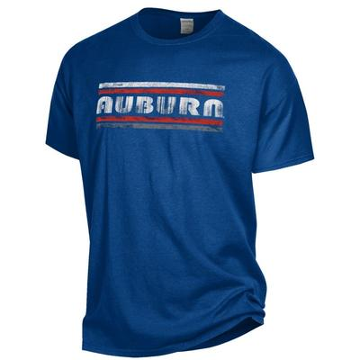 Auburn Women's Retro Bar Comfort Wash Tee