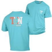 Tennessee Women's Comfort Wash Pocket Tee