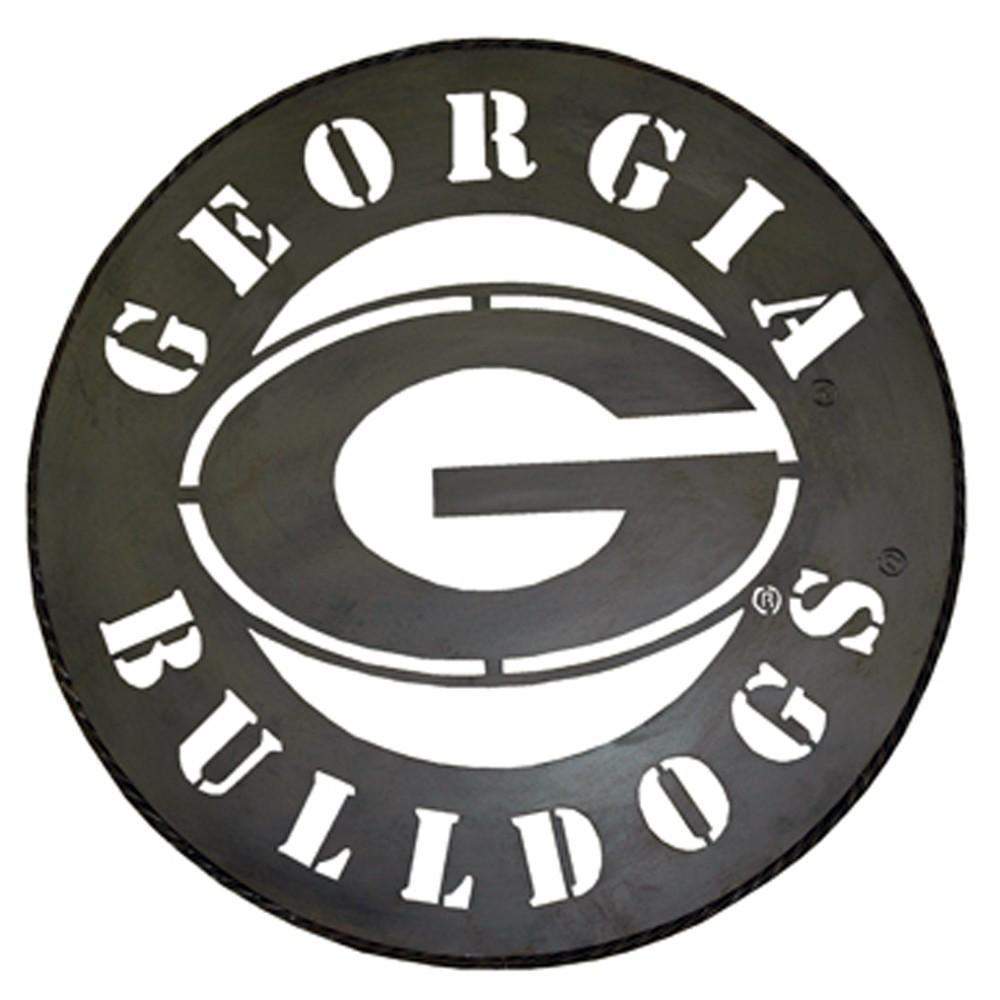 Georgia Bulldogs G Logo Metal Wall Art