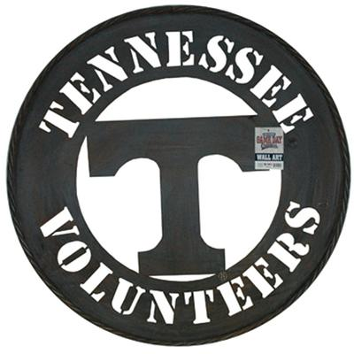 Tennessee Power T Logo Metal Wall Art