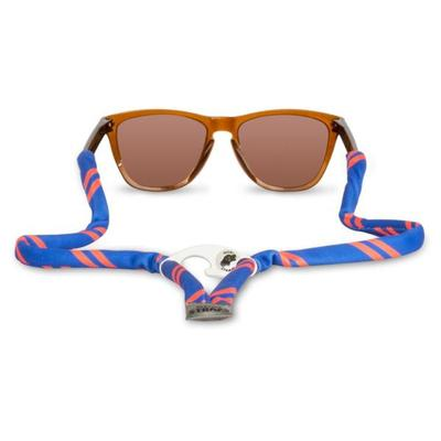 Orange and Blue Gobi Bottle Opener Sunglasses Strap