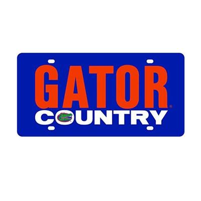 Gators Country License Plate