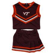 Virginia Tech Toddler Girls Cheer Set