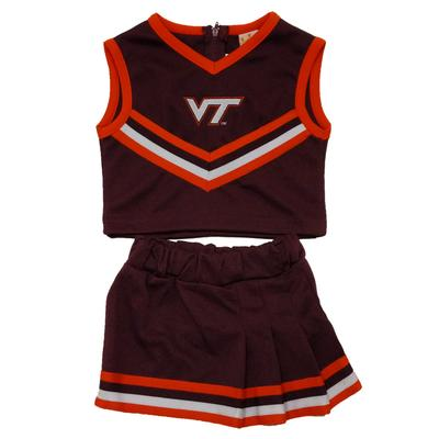 Virginia Tech Toddler Girls Cheer Set