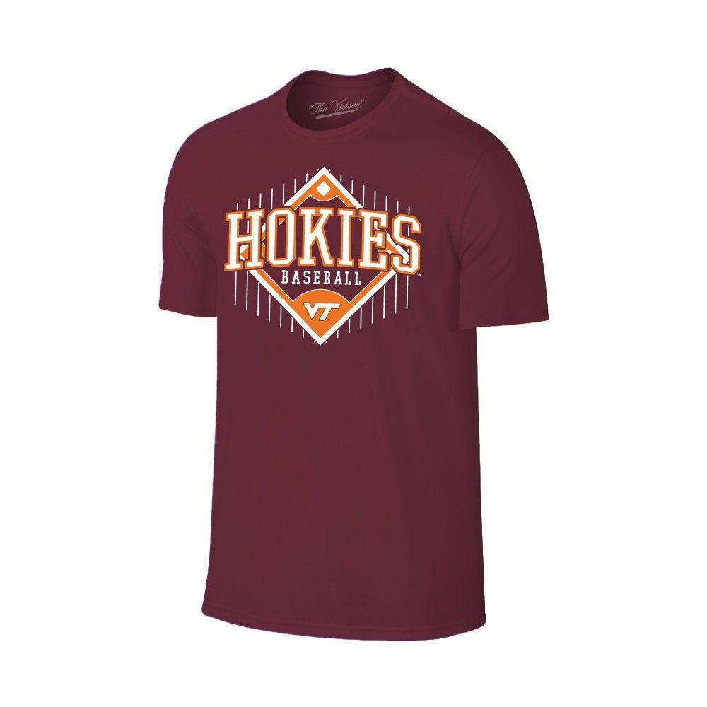 Virginia Tech Baseball Field T- Shirt