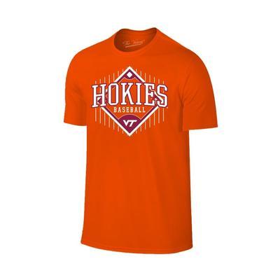 Virginia Tech Baseball Field T-Shirt ORANGE