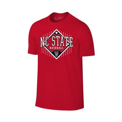 NC State Baseball Diamond T-Shirt