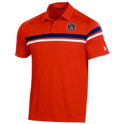 Auburn Under Armour Tour Drive Polo ORG