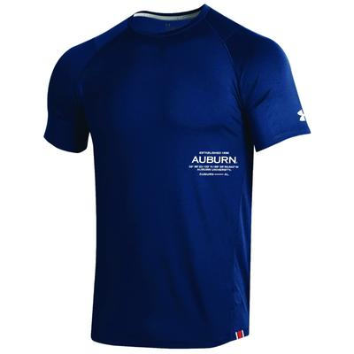 Auburn Under Armour MK1 Raid Short Sleeve Tee