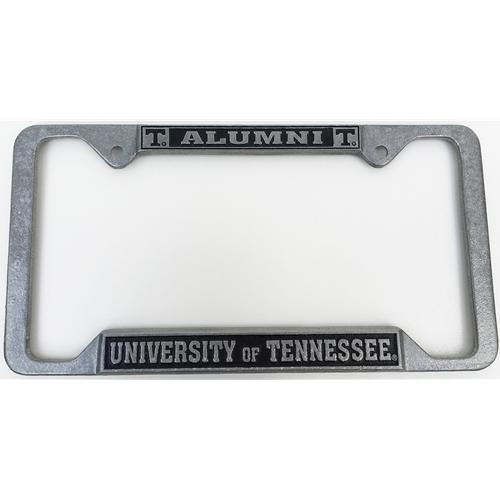 Tennessee License Plate Frame Metal