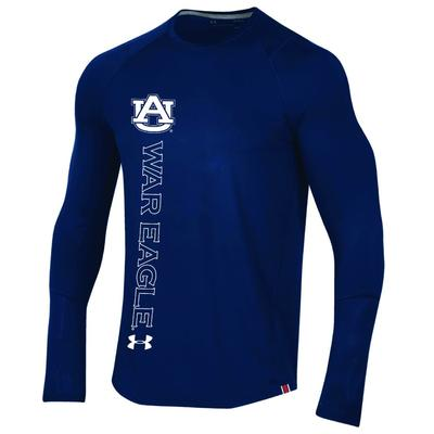 Auburn Under Armour MK1 Raid Long Sleeve Tee