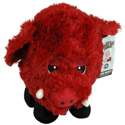Arkansas Plush Mascot Fluffball