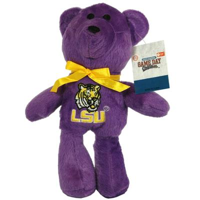 LSU Plush Beanie Teddy Bear