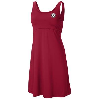 Alabama Columbia Women's Freezer Dress RED_VELVET