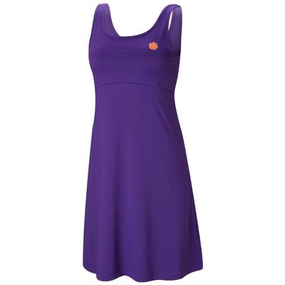Clemson Columbia Women's Freezer Dress VIVID_PURPLE