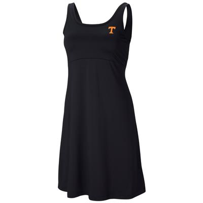 Tennessee Columbia Women's Freezer Dress - Plus Sizes BLACK