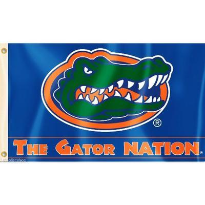 Florida Nation Striped House Flag 3' x 5'
