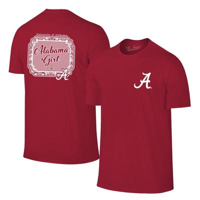 Alabama Girl Short Sleeve Tee Shirt