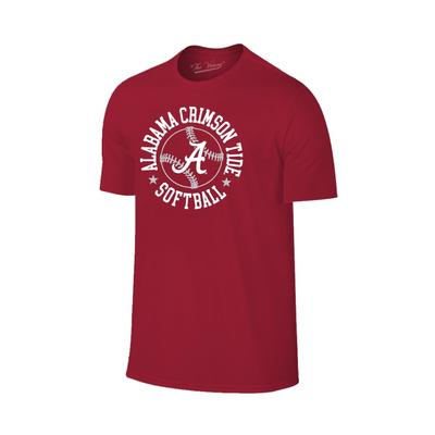 Alabama Softball Short Sleeve T Shirt