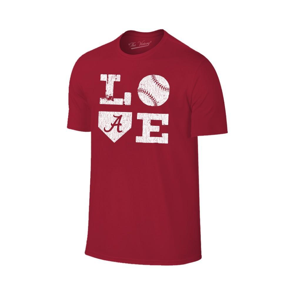 Alabama Love Softball Short Sleeve T Shirt