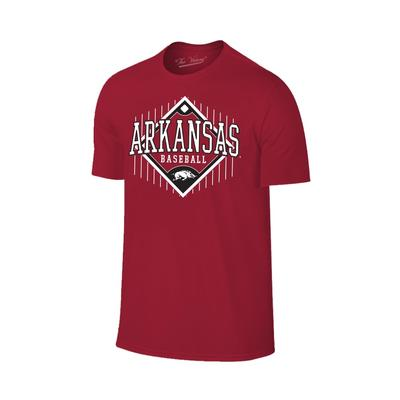 Arkansas Baseball Short Sleeve T Shirt