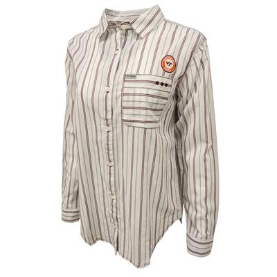 Virginia Tech Columbia Women's Sun Drifter III L/S Shirt