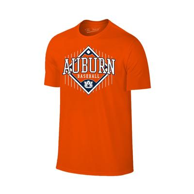 Auburn Baseball Short Sleeve T Shirt ORANGE