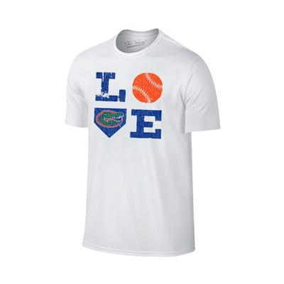 Florida Love Plate Logo Softball Tee