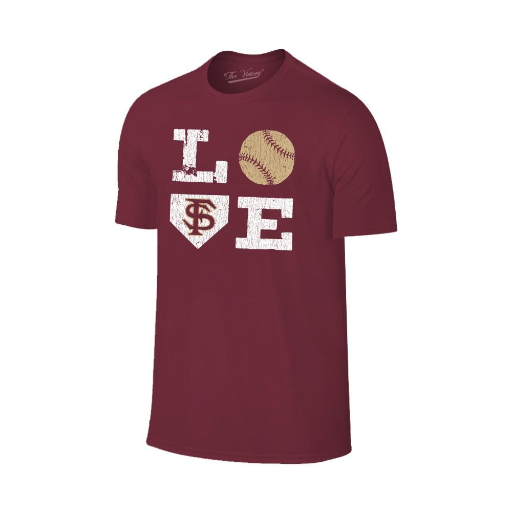 Florida State Love Softball Short Sleeve T Shirt