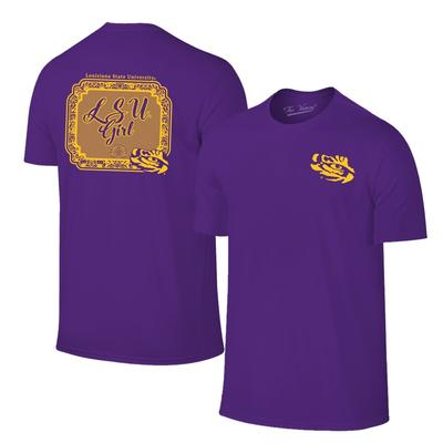 LSU Girl Short Sleeve T Shirt