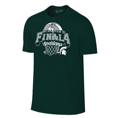Michigan State Spartans 2019 Final Four Youth Net Tee
