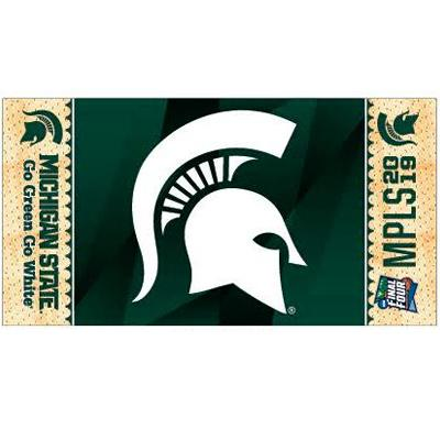 Michigan State 2019 Final Four Locker Room Towel