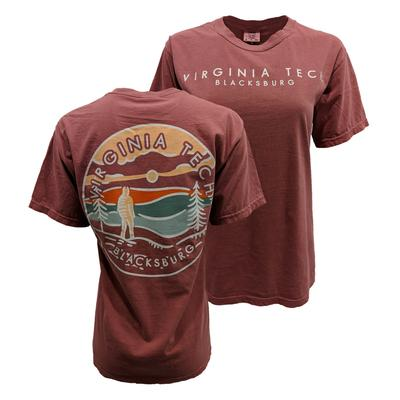 Virginia Tech Comfort Colors Explore T-Shirt