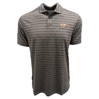 Virginia Tech Nike Golf Dry Vapor Stripe Polo