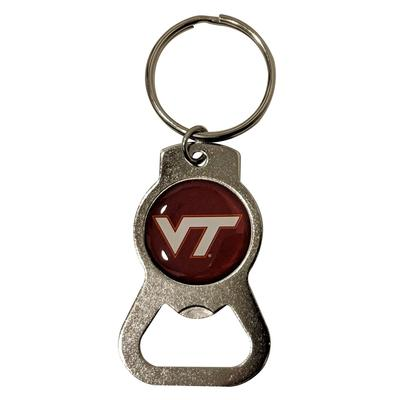 Virginia Tech Bottle Opener Key Ring