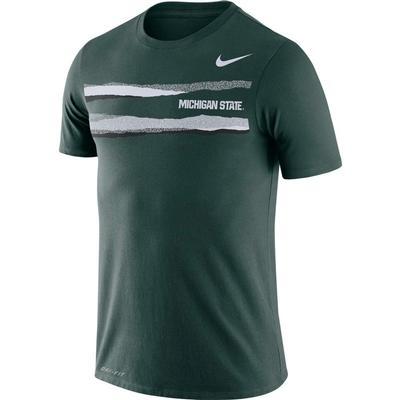 Michigan State Nike Dri-FIT Mezzo Short Sleeve Tee