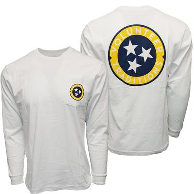 Volunteer Traditions Tennessee Tri-Star Long Sleeve Tee