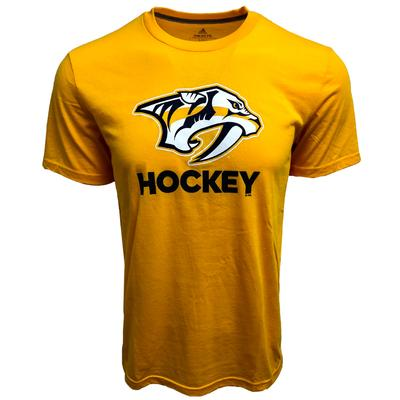 Nashville Predators Adidas Club Short Sleeve Tee