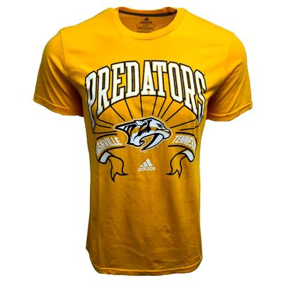 Nashville Predators Adidas Classic Short Sleeve Tee