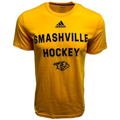 Nashville Predators Adidas Smashville Short Sleeve Tee