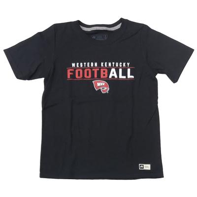 Western Kentucky Russell Youth Football Tee