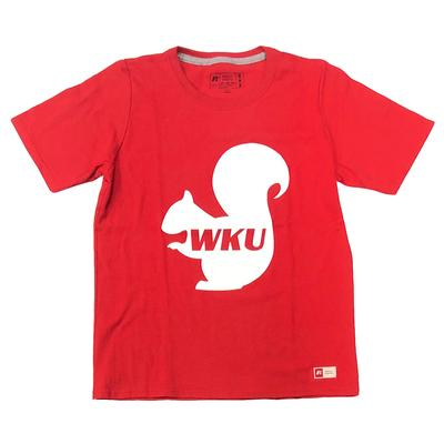 Western Kentucky Squirrel Youth Tee