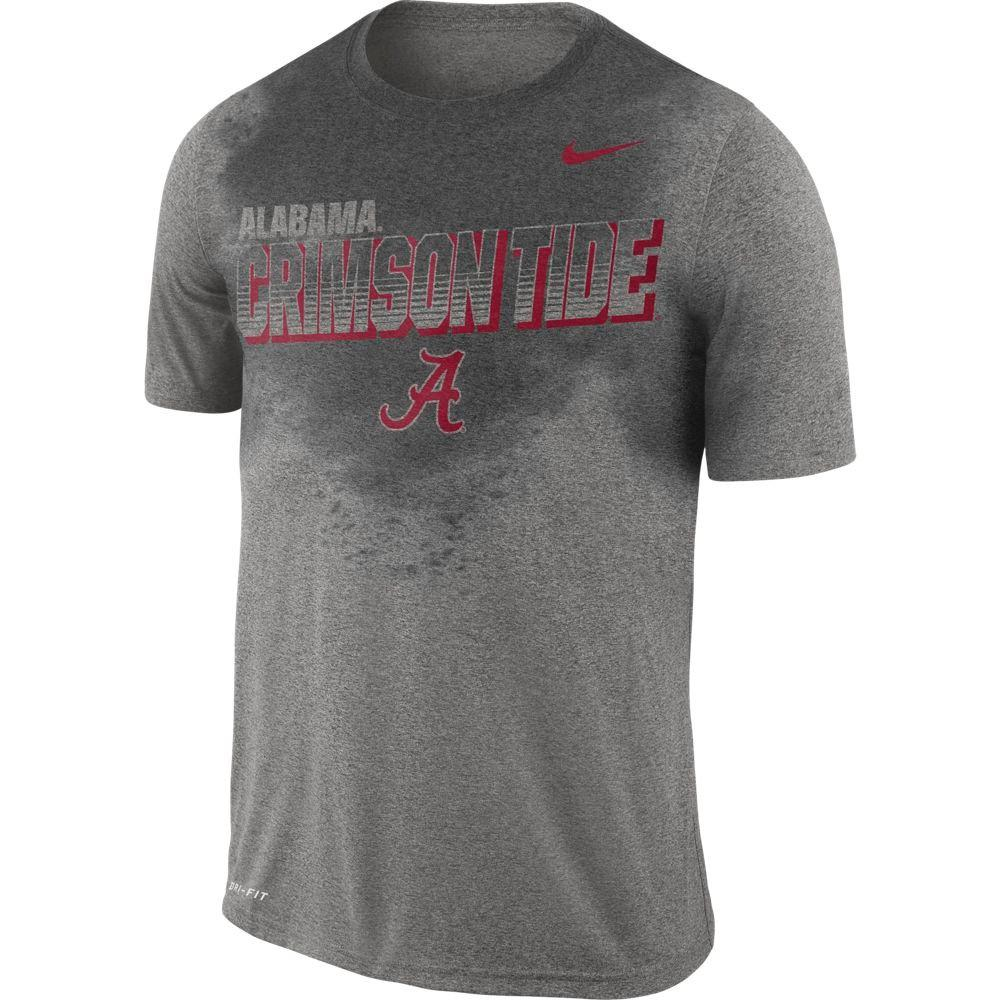 Alabama Nike Dri- Fit Sweat Activated Training Tee