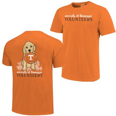 Tennessee Frisbee Dog Comfort Colors Tee