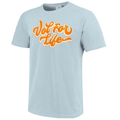 Tennessee Vol For Life Script Comfort Colors Tee