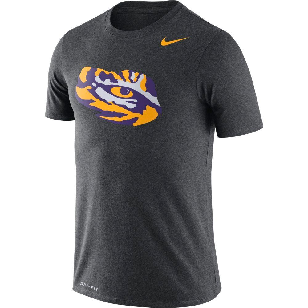 Lsu Nike Dri- Fit Legend Logo Tee