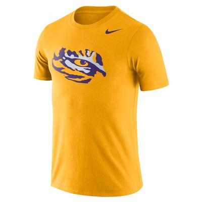 LSU Nike Dri-FIT Legend Logo Tee GOLD