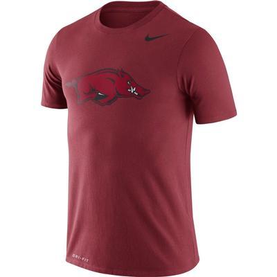 Arkansas Nike Dri-FIT Legend Logo Tee CRIMSON