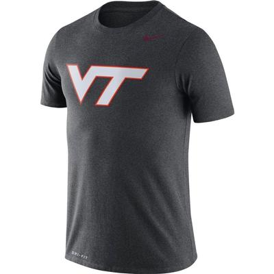 Virginia Tech Nike Dri-FIT Legend Logo Tee